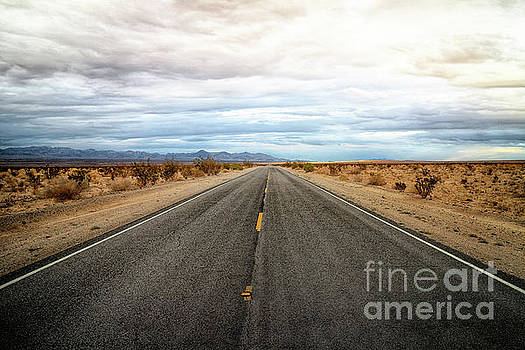 Many Miles Through Mojave Desert by Benjamin Wiedmann