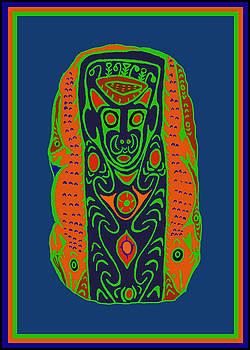 Maori Ancestral Spirit by Vagabond Folk Art - Virginia Vivier