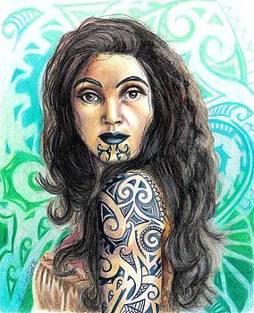 Scarlett Royal - Maori Woman