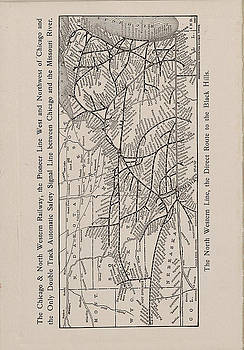 Chicago and North Western Historical Society - 1908 Train Route Through Black Hills