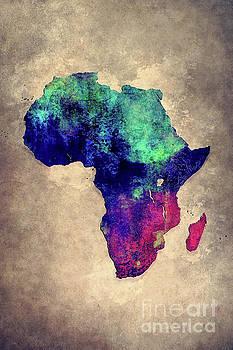 Justyna Jaszke JBJart - Map of Africa