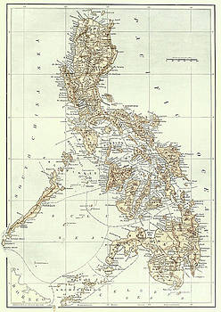 American School - Map of the Philippines
