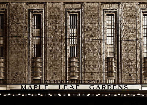 Maple Leaf Gardens by Brian Carson