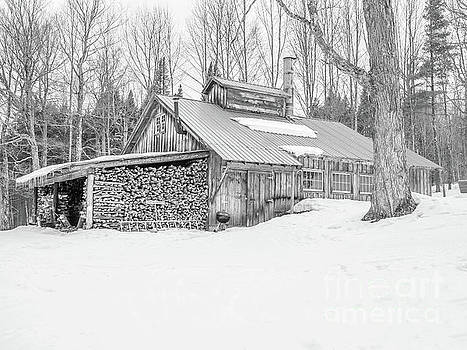 Maple Sugar Shack Stowe Vermont by Edward Fielding