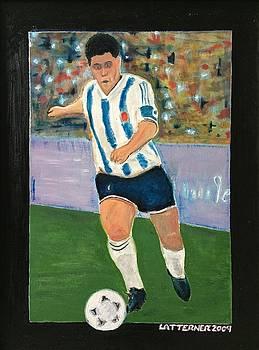 Maradona by John Latterner