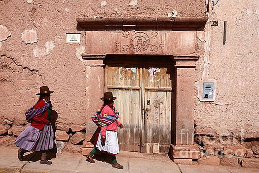 James Brunker - Maras Street Scene Peru