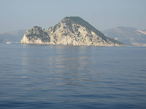 Newnow Photography By Vera Cepic - Marathonisi island on the island of Zakinthos shot from the sea