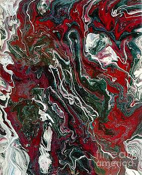 Marble painting 10 by Barbara Griffin