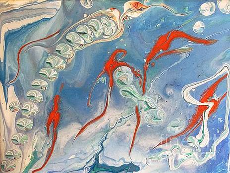 Marble Painting 3 by Barbara Griffin