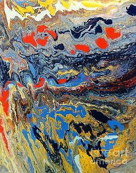 Marble Painting 7 by Barbara Griffin
