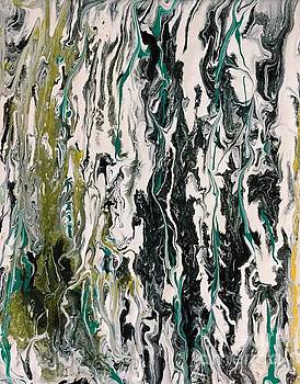 Marble Painting 9 by Barbara Griffin