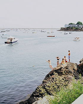 Marblehead Harbor in Summer by Brian McWilliams
