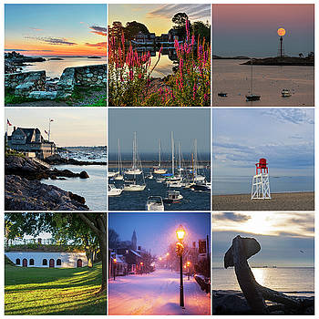 Marblehead MA Collage North Shore by Toby McGuire