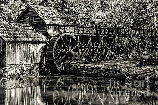 Marby Water Mill 3 by Bob Phillips