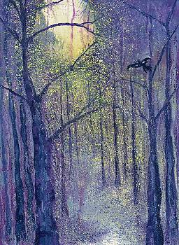 March Full Crow Moon by Robin Samiljan