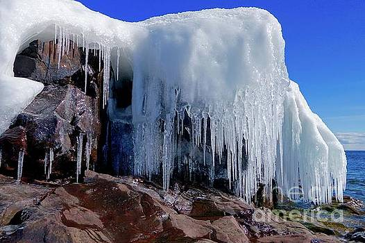 March Icicles by Sandra Updyke