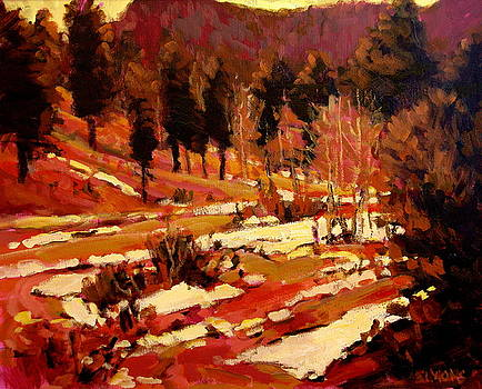 March Landscape by Brian Simons