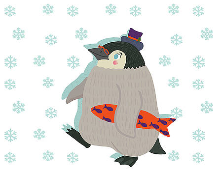 March of the Holiday Penguin by Nicole Wilson
