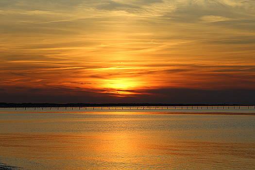 March Sunset by Vikki Angel