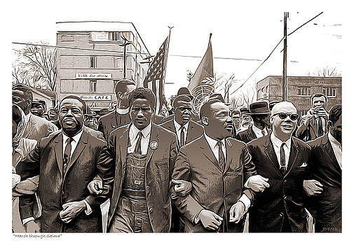 March through Selma by Greg Joens