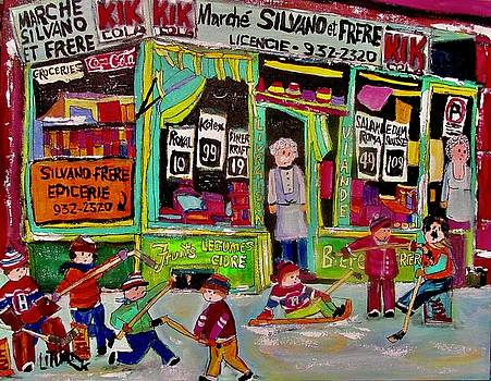 Marche Silvano et Frere Goose Village by Michael Litvack