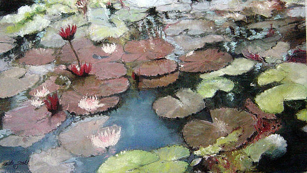 Marcia's Lillies by Anita Stoll