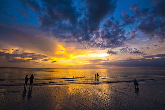 Marco Island Sunset by Terry Finegan
