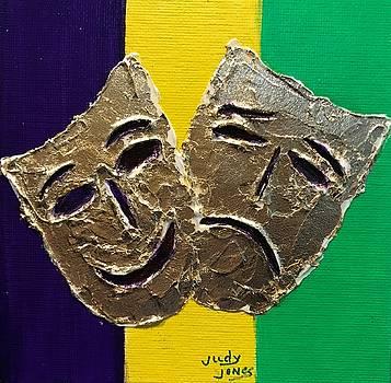 Mardi Gras Drama by Judy Jones