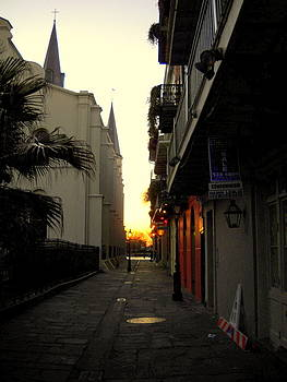 Mardi Gras Morning by Ted Hebbler