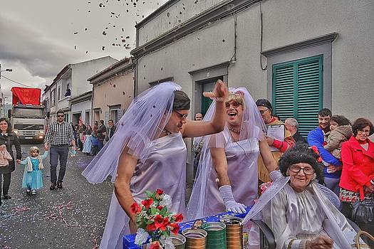 Mardi Gras Parade in The Azores Islands by Steffani Cameron