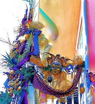 Mardi Gras Porch by John Babis