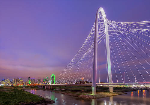 Margaret Hunt Hill Bridge by Drew Castelhano