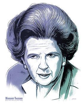 Margaret Thatcher by Greg Joens
