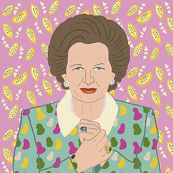 Margaret Thatcher by Nicole Wilson