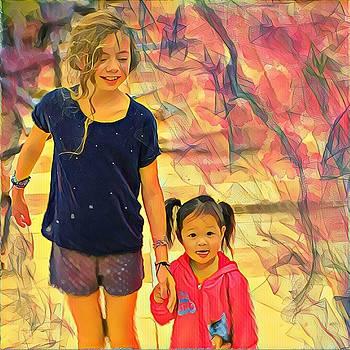 Margaux au Laos by Danielle Arnal