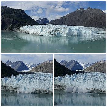 Margerie Glacier by Lawrence Birk