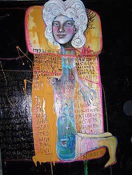 Maria Antonietta al patibolo by Beatrice Feo Filangeri