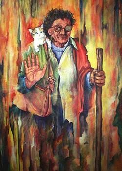 Maria De Los Gatos by Jesus Alberto Arbelaez Arce