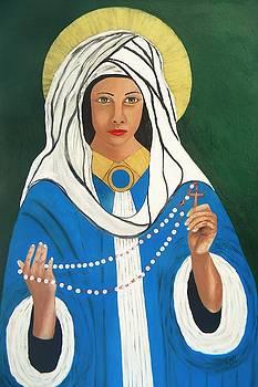 Maria Virgen Peregrina by Iris  Mora