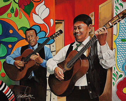 Mariachi Muscians by Bill Dunkley