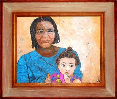 Mariama and Little Mari Addy by Farin MEMA Greer
