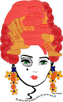 Marie Antoinette 2 by Shirley Sacks