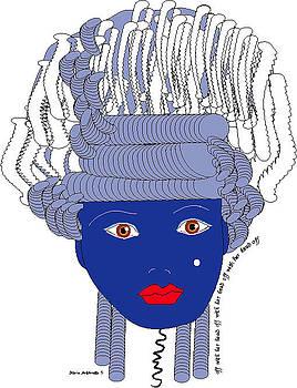 Marie Antoinette 5 by Shirley Sacks