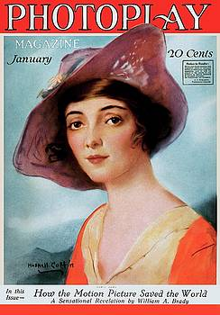 Marie Doro, Photoplay cover january 1919 by Vintage Printery
