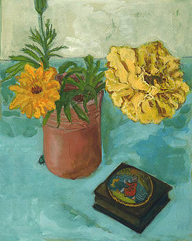Marigolds and June Bugs by Laura Wilson