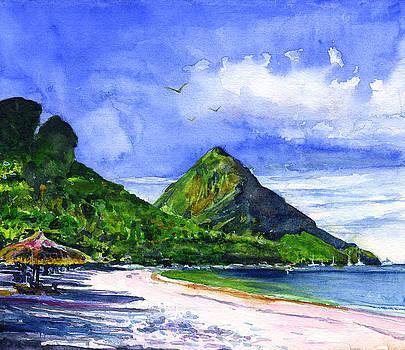 Marigot Bay St Lucia by John D Benson
