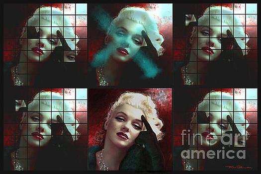 Theo Danella - Marilyn 128 wall