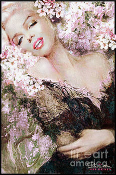 Marilyn Cherry Blossom b by Theo Danella