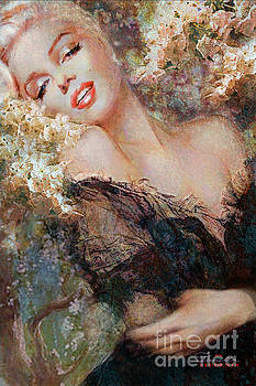 Marilyn Cherry Blossom by Theo Danella