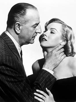 Marilyn Monroe choked In The Asphalt Jungle by R Muirhead Art
